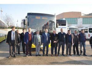 Sarı Otobüsler Sefere Hazır