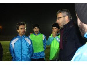 Başkan Güler Belediyespor Futbol Kulübü'nü Ziyaret Etti