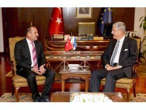 Başkan Duruay'dan, Avrupa Birliği Bakanı'na Ziyaret