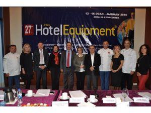Hotel Equipment Fuarı'nda 3 bin 500 ürün sergilenecek
