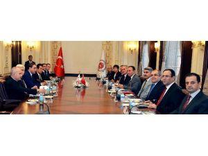 Bakan Bozdağ, Gürcistan Başsavcısını Kabul Etti