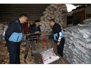 Çiğli'de Kömür Depoları Denetlendi