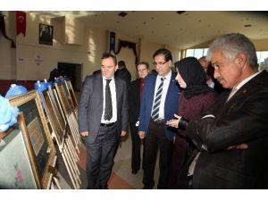 Başiskele'de Türk İslam Sanatları Sergisi Açıldı