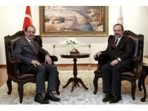 Rektör Coşkun'dan Başkan Görmez'e Hayırlı Olsun Ziyareti