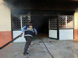 Tarsus'ta 'itfaiye erleri vuruldu' haberi asparagas çıktı