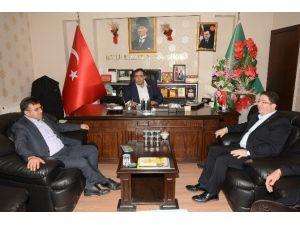 Yazgı Ve Aktürk'ten Başkan Koçak'a Ziyaret