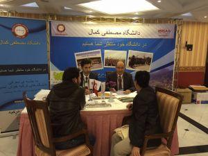 Mustafa Kemal Üniversitesi, İran'da Tanıtım Günleri Fuarı'na katıldı