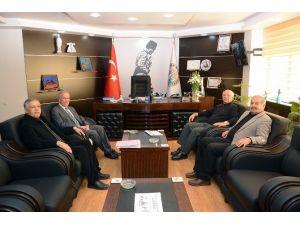 Emekli Emniyet Genel Müdür Yardımcısı Er'den Başkan Acar'a Ziyaret