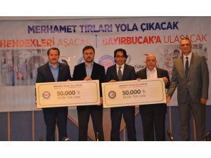 Terör mağdurları ve Türkmenlere yardım kampanyası 100 bin TL ile başladı