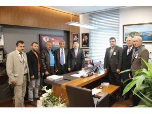 Kazan Bartınlılar Derneğinden Milletvekili Tunç'a Ziyaret