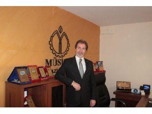 MÜSİAD Gaziantep Şubesi Başkanı Mehmet Çelenk'ten Kurtuluş Günü Kutlaması