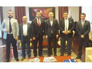 Genç TÜMSİAD'tan Rektör Tamer Yılmaz'a Ziyaret