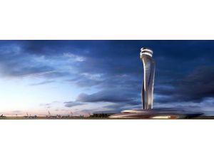 Üçüncü Havalimanı'nın Trafik Kontrol Kulesi