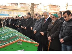 Şehit Cenazesine Kalbi Dayanmayan Yaşlı Adam Toprağa Verildi