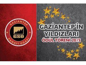 """""""Gaziantep'in Yıldızları Ödül Töreni"""" Cumartesi Günü Yapılacak"""