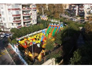 Alanya Balon Park Yenilendi