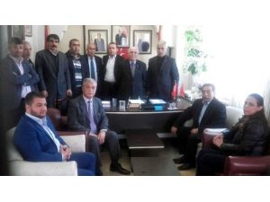 """MHP Adıyaman İl Teşkilatı, """"Devlet Bahçeli'nin Emrindeyiz"""" Açıklaması Yaptı"""