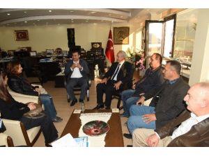 CHP Alanya'dan Başkan Yücel'e Ziyaret
