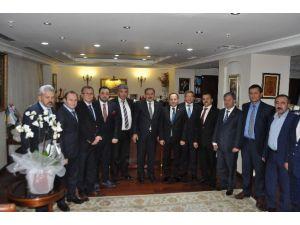 Afyonkarahisar Ticaret Ve Sanayi Odası Üyeleri Ankara'ya Çıkarma Yaptı