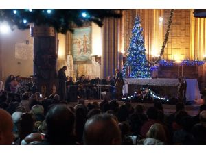 Sent Antuan Kilisesi'nde Noel ayini düzenlendi
