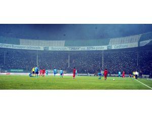 Bursaspor Eskişehir'e acımadı