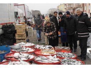 Cihanbeyli'de Balık Tezgahları Denetlendi
