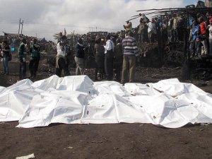 Nijerya'da gaz dolum merkezinde patlama: 100 ölü