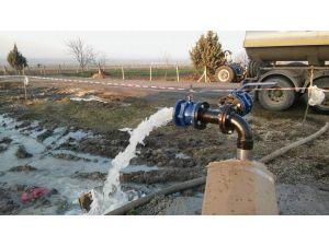 Saray Göçerler Mahallesinin İçme Suyu Sorununu Çözüldü