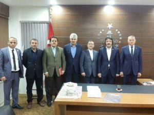 İran Başkonsolosu Kondori'den TÜMSİAD Trabzon Şubesi'ne Ziyaret