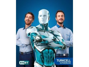 Turkcell Superonlıne Kullanıcılarına Eset Koruması