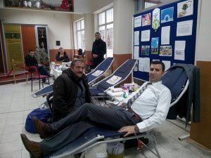 En fazla kan bağışlayan okul oldu