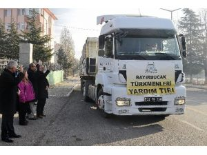 Bayırbucak Türkmenlerine 22 Ton Kömür Yardımı