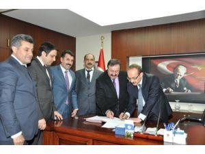 Muş Valiliği Sosyal Denge Tazminat Sözleşmesini İmzaladı