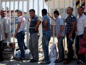 Yüzbinlerce Suriyeliye çalışma izni yolda