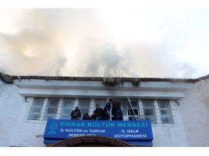 Şırnak'ta Kültür Merkezi'ne Saldırı