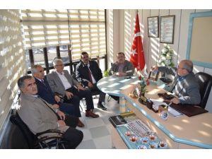 Kula İlçe Milli Eğitim Müdürü Çarpan'dan Başkan Yiğen'e Ziyaret