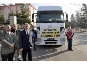 Isparta'dan Bayırbucak Türkmenelerine 22 ton kömür yardımı