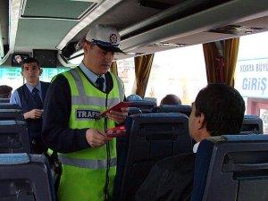 Yolcu otobüslerinde 'emniyet kemeri' denetimleri artırılacak