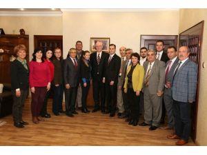 CHP Odunpazarı İl Örgütünden Başkan Kurt'a Ziyaret