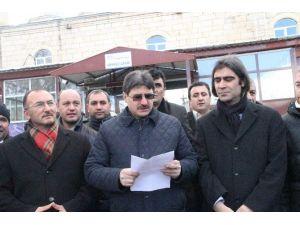 Ardahan'daki Sivil Toplum Kuruluşlarından Teröre Ortak Tepki