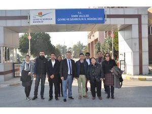 CHP'liler Aliağa Termik Santrali'ne itiraz etti