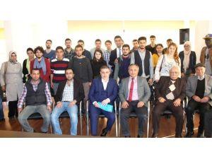 Mersin GİAD Üyeleri, MEÜ Öğrencileriyle Buluştu