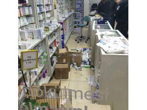 Gaziantep'te nöbetçi eczaneye saldırı