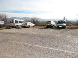 Cezaevi Ziyaretçi Otoparkındaki Aracı Çaldılar