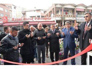 Belediye Başkan Vekili Nihat Can İş Yeri Açılışını Gerçekleştirdi