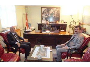 Müdür Serdar'dan Müftü Arvas'a Ziyaret