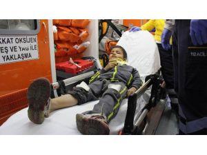 Kazada Yaralanan Yabancı Uyruklu Çocuğun Kimliği Tespit Edilemedi