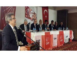 Bandırma'da CHP İl Başkan Adayları Toplandı