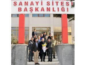 Vali Güner 2. Küçük Sanayi Sitesi'ni Ziyaret Etti