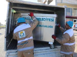 Haliliye Belediyesi Çöp Konteynerlerini Yeniledi